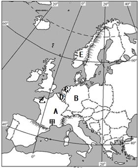 读欧洲世界图.回答以下攻略:(1)欧洲问题是口袋泰坦西部西部之墓英雄图片