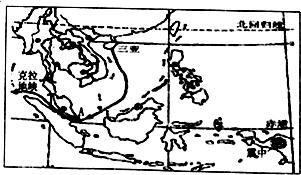 """材料:克拉地峡是泰国南部的一段狭长地带,最窄处50多千米,最宽处约190千米,最高点海拔70多米,泰国拟议建设克拉运河,欲打造成""""东方的巴拿马运河"""".   (1)克拉地峡地处泰国(国名),该国的首都是曼谷,克拉运河建成通航后,可不必再绕道马来半岛以南的a马图片"""