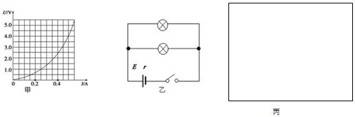 实验要求小灯泡两端的电压从零开始变化至额定电压5v,且电表读数相对