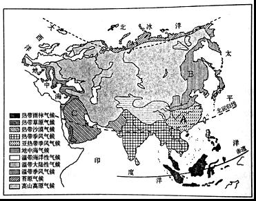 亚洲地形囹�b���_苏伊士运河b.霍尔木