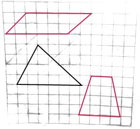 下面图中每个小方格的面积是1平方厘米.请在图中分别画出面积是12平方厘米的三角形.平行四边形.梯形.要求 1 三角形的底.平行四边形的底.梯形上下底之和必须相等