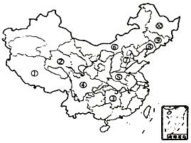 读长江水系图 .回答下列问题.(1)长江发源地是