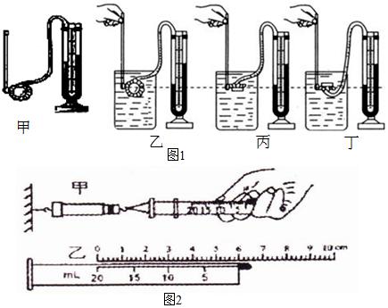 注射器吸取液体的原理_5、用注射器吸取一定量的墨水,每支注射器吸取一种颜色的墨水,不要混合使用.
