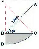 图中.边AC与边BD和为12公分时.引用部分的面