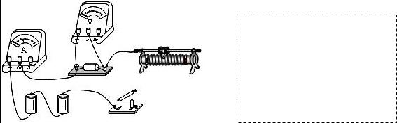 解答:解:(1)滑片向左移时,滑动变阻器接入电路的阻值变小,只要把滑动变阻器的左下方接线柱与开关连接即可,如下图所示:  (2)先画出电源的符号,从电源的正极出发依次画出开关、滑动变阻器、电阻、电流表回到负极,然后把电压表并联到电阻的两端.如下图所示:  (3)在研究电流与电压的关系时,为了达到多次测量的目的,应调节滑动变阻器改变定值电阻两端的电压; 分析表中的数据可知每次电压与电流的比值的不变,故可得结论:电阻一定时,通过的电流与两端的电压成正比. 故答案为:(1)实物图如上图所示; (2)电路图如上图