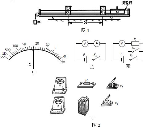 进行如下实验操作: ①首先,用多用电表进行粗测,选用×100Ω倍率,操作