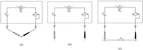 高中物理 题目详情  使用多用电表的欧姆档可直接测量未知电阻的阻值.