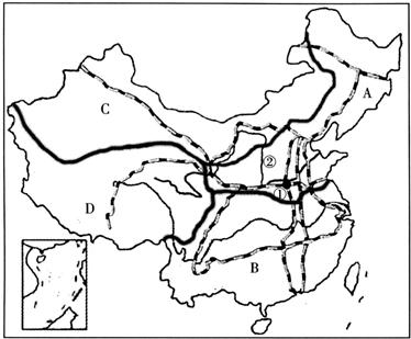 陇海铁路线与京广铁路线交会城市是( )