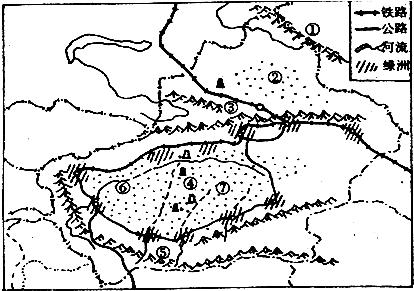 新疆的城市和人口主要分布在盆地边缘部分和沿河的绿洲地区