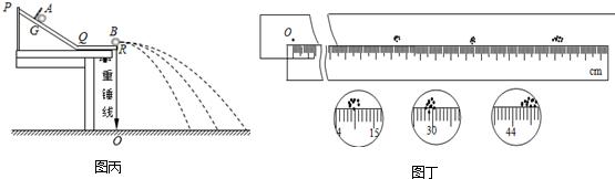 """如图乙所示,,用多用电表的""""×1""""欧姆挡,调零后测得某电阻的阻值r="""