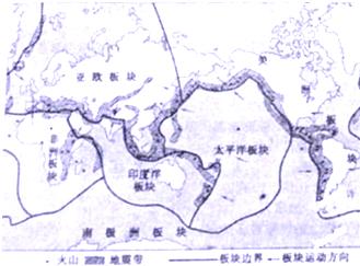 读南美洲图回答问题 1 南美洲西临 洋. 2 南美洲气候的主要特征是 . 3 南美洲西部是 山脉.东部高原与平原相间分布.根据乙图所示的剖面图该纬度地势特征是 .图片