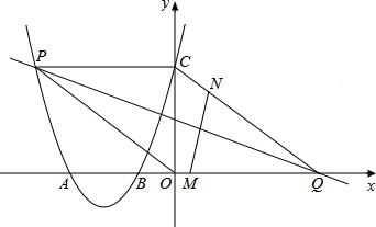 如图.二次函数的图象与x轴相交于点A.与y轴相交于点C 0.3 .点P是该