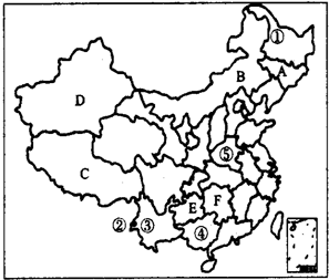 分别是哪两个省的简称 A.甘肃四川B.宁夏贵州C.陕西四川D.陕西湖北