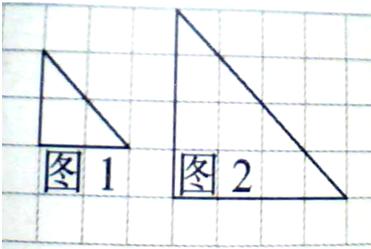 图中每个小方格表示边长是1厘米的正方形. 1 用数对表示图中点a和点a1的位置 a ,a1 . 2 左边三角形经过怎样的位置变换,成为右边的三角形 先