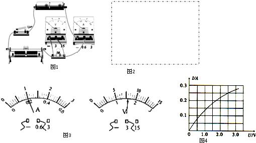 初中物理 题目详情  (1)小群连接了如图1的实验电路,她的连接有错误