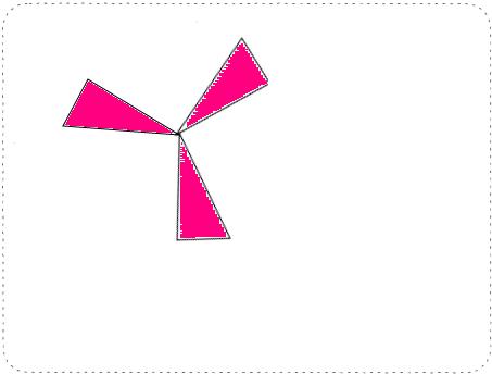 收集由长方形(或正方形,三角形,平行四边形)设计的图案,贴在下面,并说