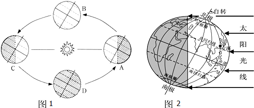 回答下列问题:(1)地球公转