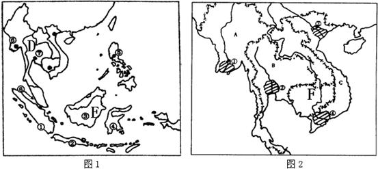 解答:解:读图可知:(1)图中字母代表的海洋名称:A为渤海;B为黄海. (2)图中字母表示的半岛名称:D为山东半岛. (3)省级行政单位、行政中心、简称:E为河南省;F为江苏省;C的行政中心是沈阳;H的简称是晋. 故答案为:(1)渤;黄;(2)山东;(3)河南;江苏;沈阳;晋.