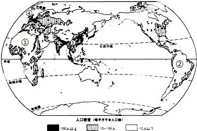人口稠密的主要原因_读我国某地人口密度图,回答20 21题 20.从图中可归纳出该区