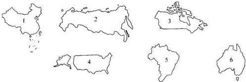 欧洲轮廓简笔画