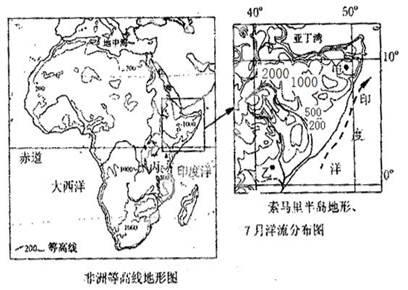 下图为 我国南方某区域等高线地形图 .读图回答下列问题. 1 描述图形区