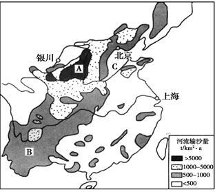水土流失地区分布规律是什么?(4分)-依据图文资料和所学知识.