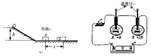 小明同学在初中物理探究实验时发现