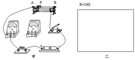 多选图为滑动变阻器连入电路的示意图.当滑片p向右时.