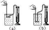 形管竖直放置时.两空气柱的长度差为h.如图所示.现将这个管平放