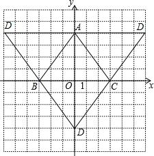 请在平面直角坐标系中标出A三点.再以A.B.C为顶点画平行四边形.并根据A.B.C三点的坐标.写出第四个顶点D的坐标. 题目和参考答案 精英家教网