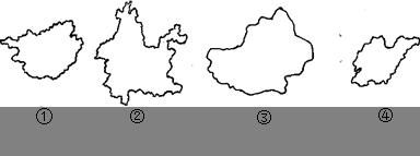 给下列多��ke_读下列省区轮廓图回答小题