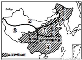 读我国主要种植业区及四大地理区域分布图,叙述正确的是( )