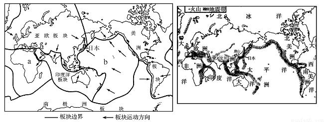 地球上的火山,地震常常给人们带来巨大灾难.