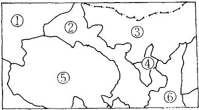 (3)喜爱弹奏冬不拉的少数民族主要分布在图中的 (省区);喜爱拉马头琴图片