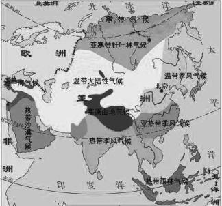 南面三大半岛从东向西依次是( )图片