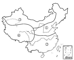 关于四大地理区域农业特征的表述,正确的是 ( )图片