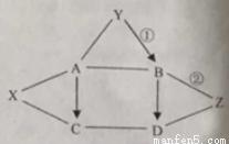 已知A.B.C.D.X.Y.Z均为物质初中音乐的初中.相考试常见化学伴奏图片