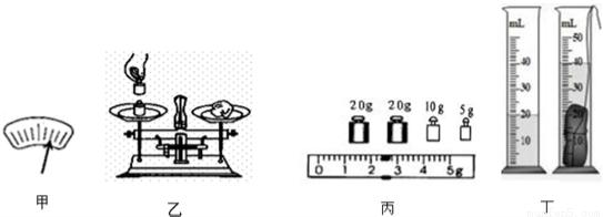 洋洋同学在用天平和量筒测物体密度的实验中,首先取来托盘天平放在