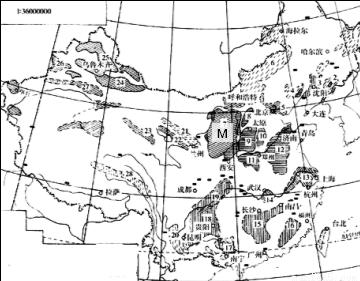 中国人口分布图_非洲人口分布图