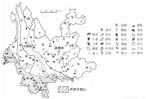 (6分) (2)云南植物种类丰富的原因是 .