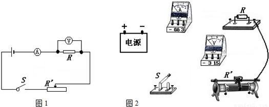 """小明用如图21所示电路图连接电路,去验证""""导体中的电流跟导体电阻""""的"""