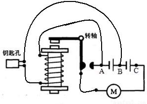 汽车电喇叭的工作原理图_汽车喇叭的工作原理   汽车电喇叭是靠金属膜片的振动从而发出声音.