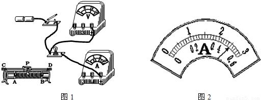 """如图是用伏安法测小灯泡电阻的实验电路图,在图甲中""""○""""内正确填写"""