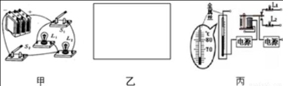 图18是一种温度自动报警器的原理图.b为电磁铁.c .