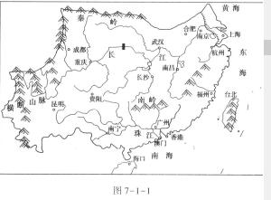 析总结简要写出南方地区的位置:.-2015江苏兴化等三校期中联考