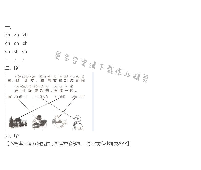 汉语拼音8.zh ch sh r - 8.  zh ch sh r