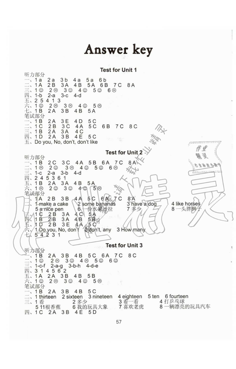 Test for Unit3 - 第1页