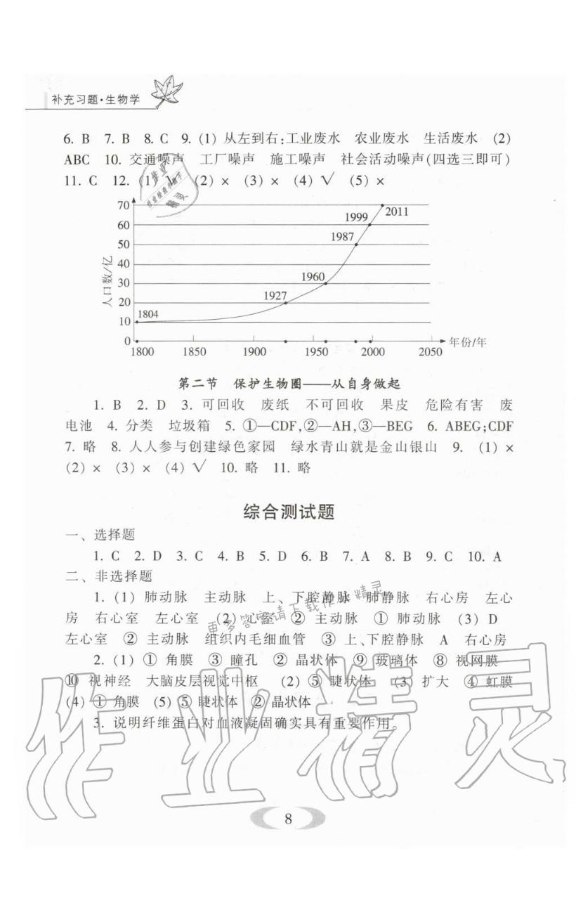 综合测试题 - 第8页