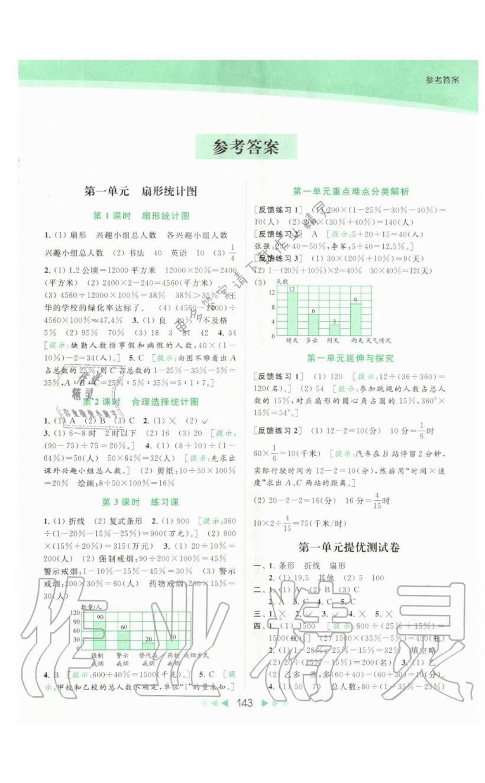 第一单元 扇形统计图 - 第1页