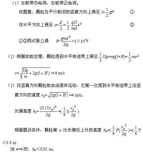 图是静电分选器的原理示意图_静电除尘原理示意图